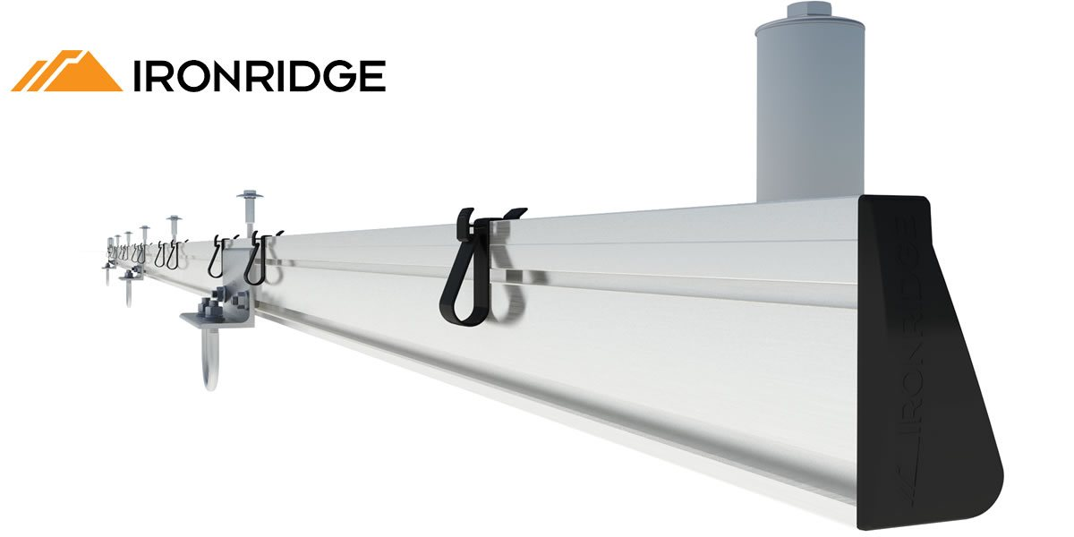 Image IronRidge Slider Ground Mount Assembly