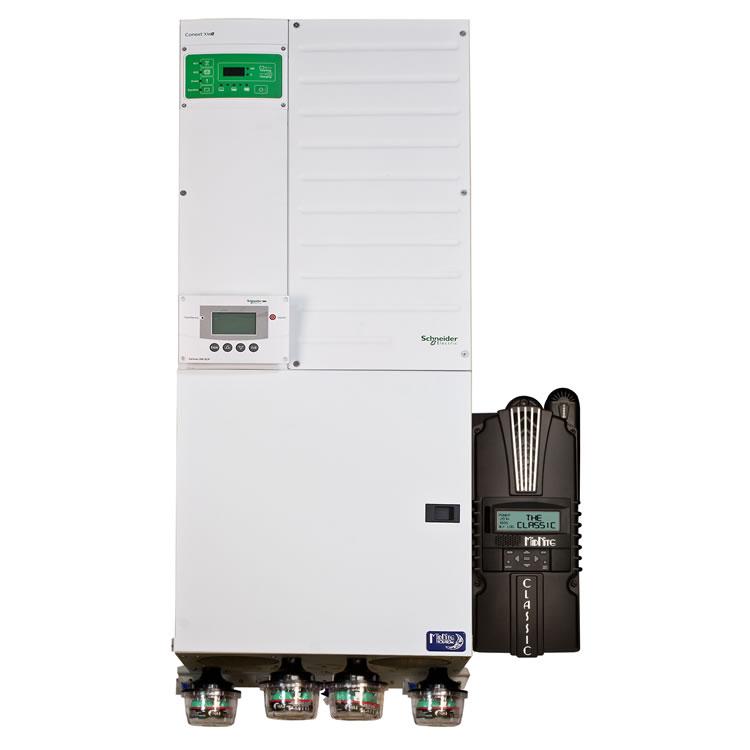 Midnite Solar Prewired Schneider XW+ Inverter System