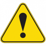 Exclamation Point Error Sign