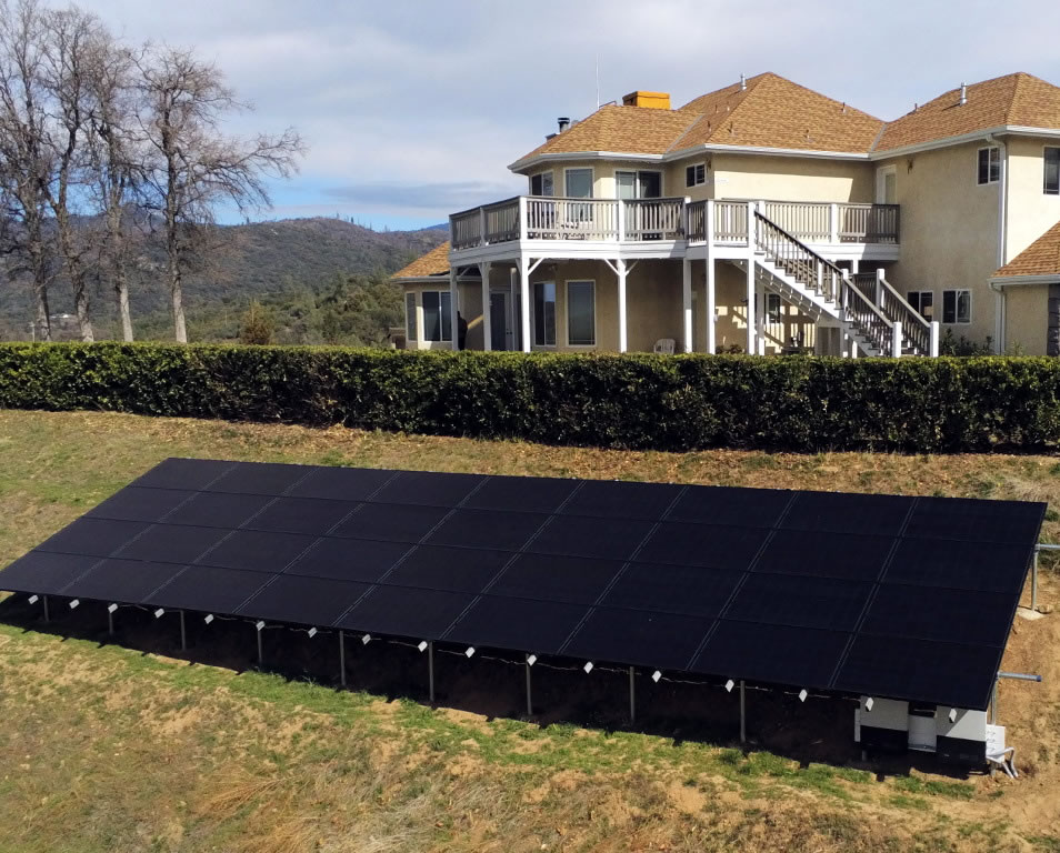 First Time Ground Mount Solar Install
