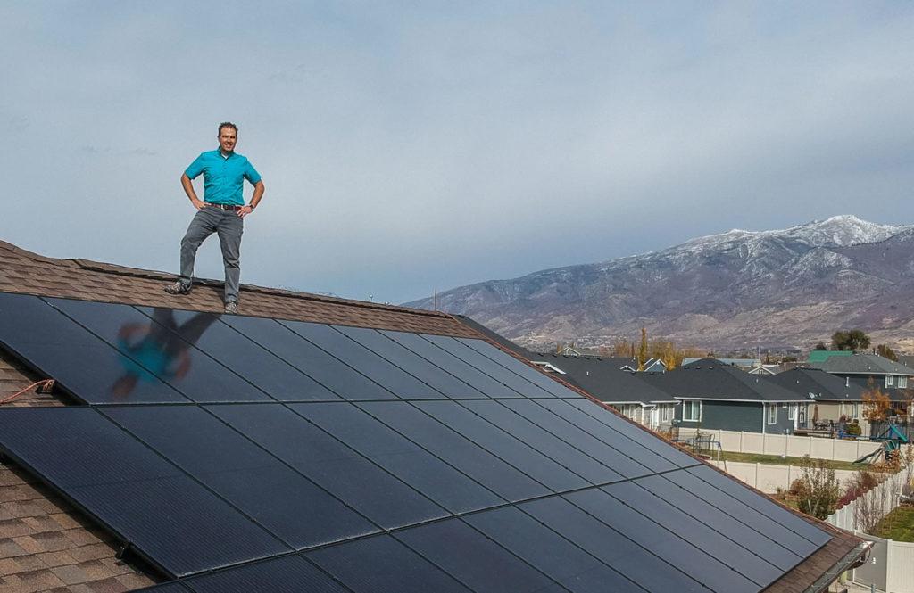 Residential Homeowner Solar Installation