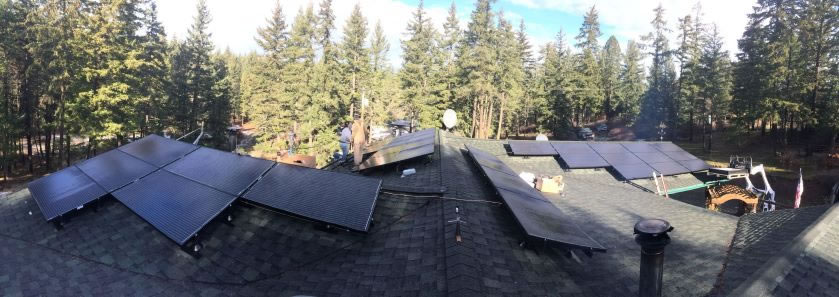 Multiple Array Solar Washington