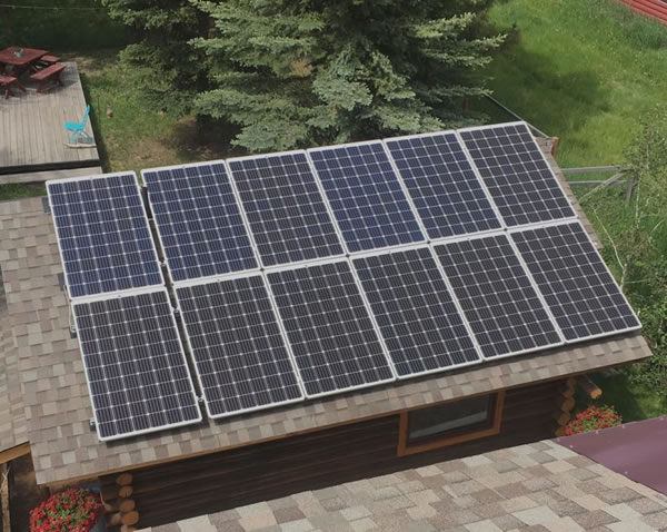 Solar for cabin Wyoming